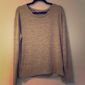 Gap gold glittery light sweater top